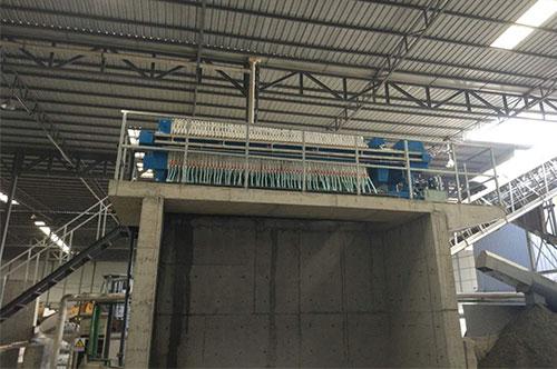 精准华阳商砼污水处理设备:压滤机